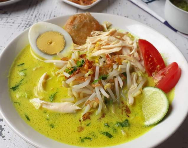 Makanan Khas Medan Soto Medan