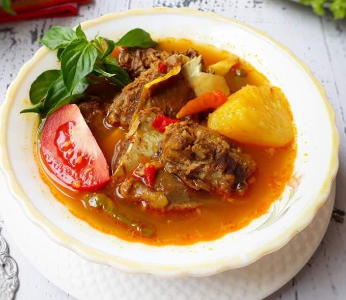 Makanan Khas Sumatera Selatan Pindang Tulang