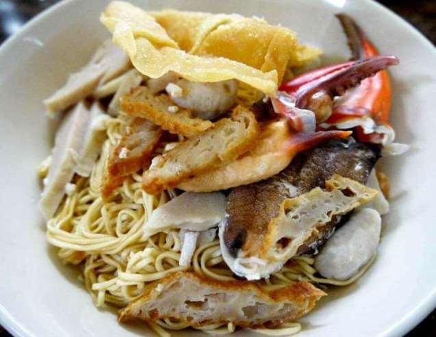Makanan Khas Kalimantan Barat Mie Kepiting Pontianak