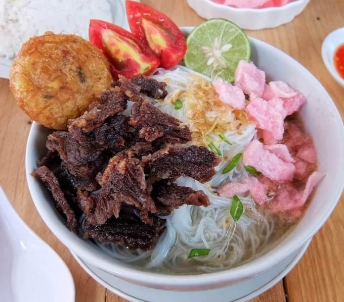 Makanan Khas Padang Soto Padang