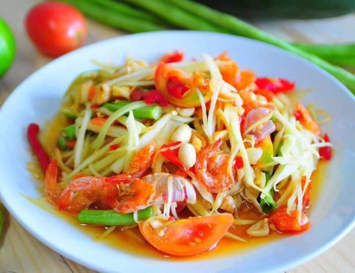 Oleh oleh Makanan Khas Thailand Som Tum