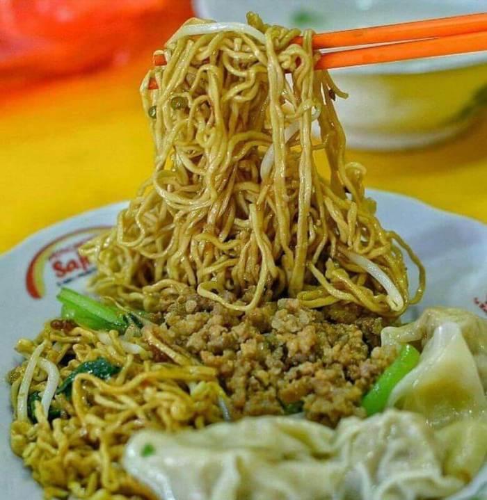 Makanan Khas Bangka Belitung Bakmi Bangka
