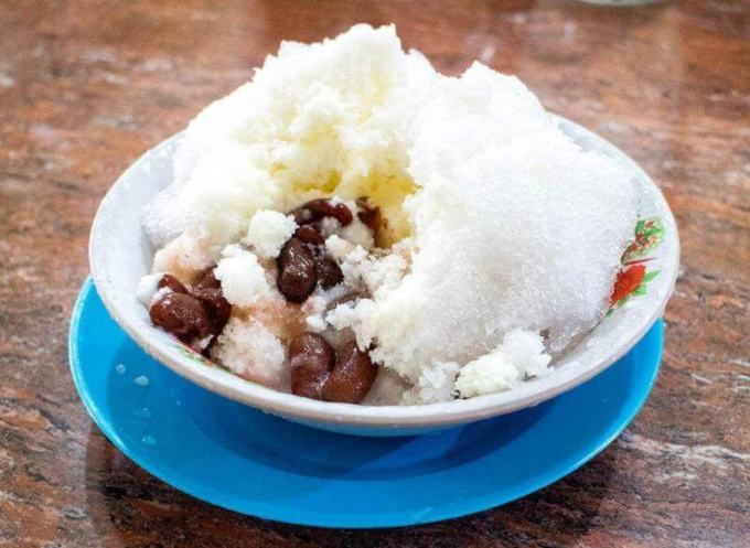 Makanan Khas Bangka Belitung Es Campur Ayung