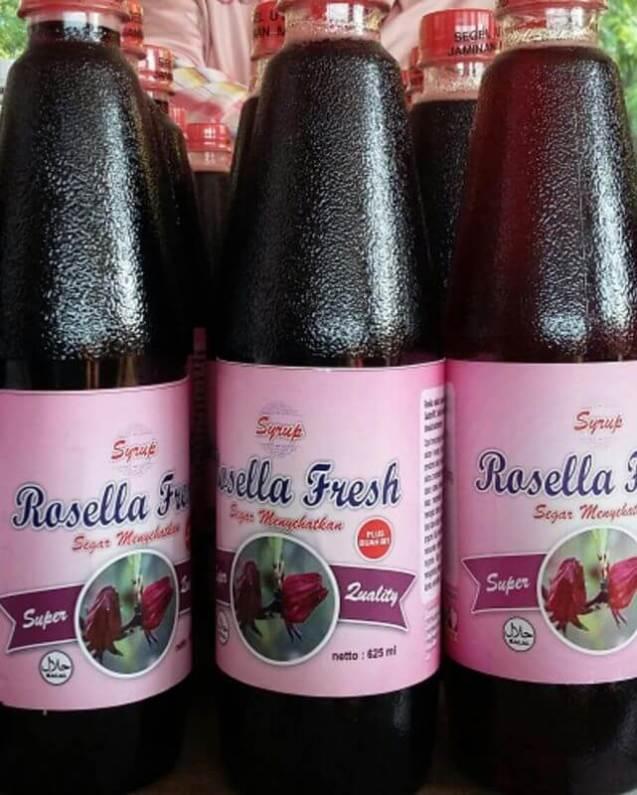 Makanan Khas Tangerang Sirup Rosalia Fresh