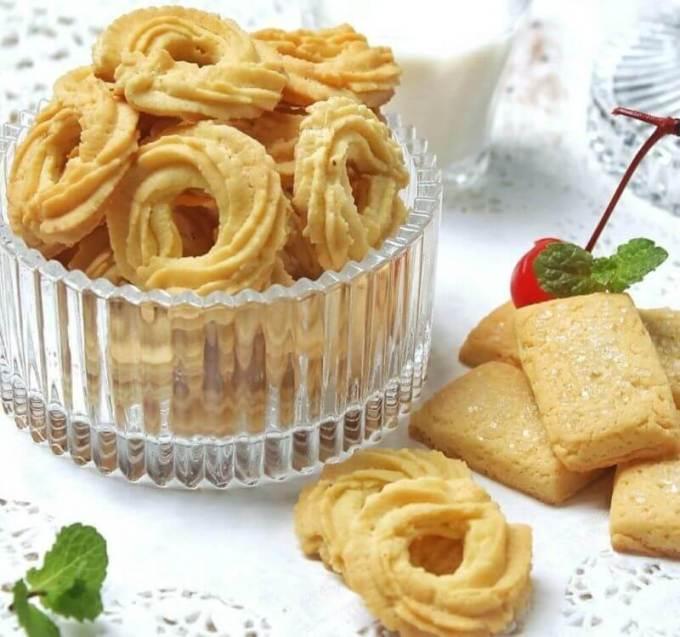 Resep Butter Cookies Monde
