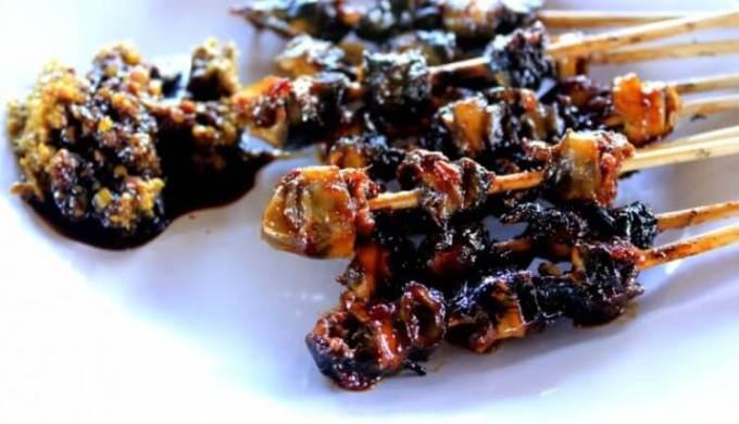 makanan khas mojokerto sate keong