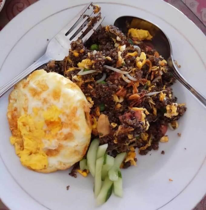 makanan khas ponorogo tiwul goreng