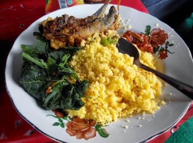 makanan khas probolinggo nasi jagung merpati