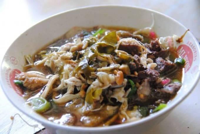 makanan khas purbalingga soto so