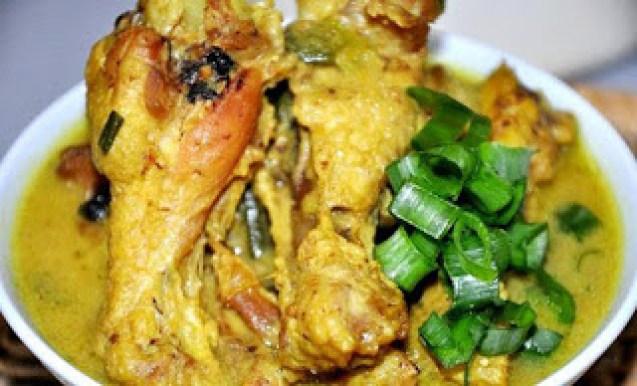 makanan khas tulungagung ayam lodho