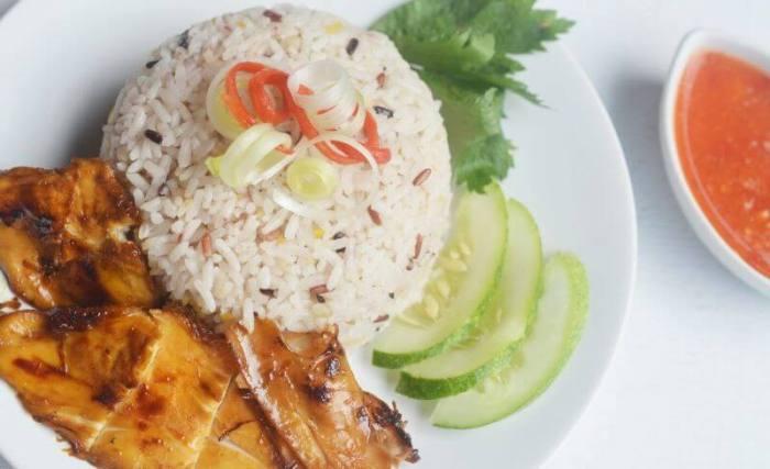 Resep Nasi Hainan Ayam Panggang