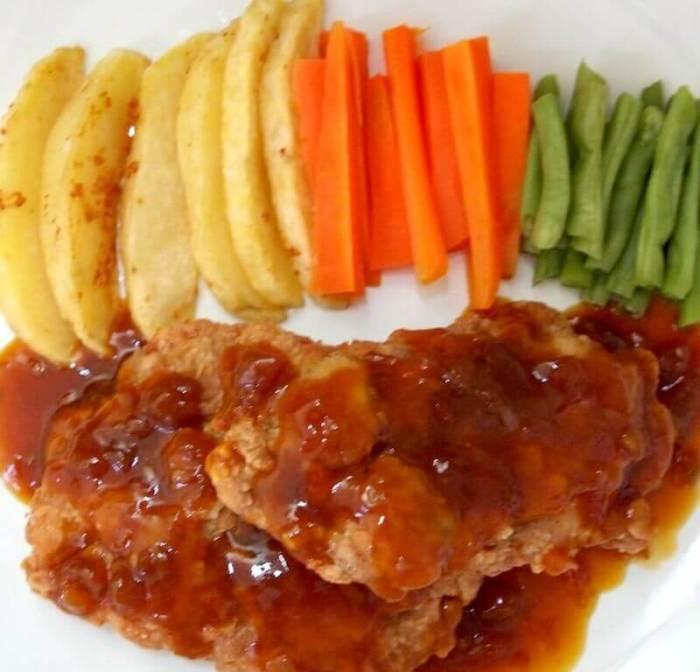 Resep Ayam Crispy Teriyaki Sederhana