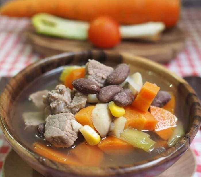 Resep Masakan Sehat Sup Kacang Merah
