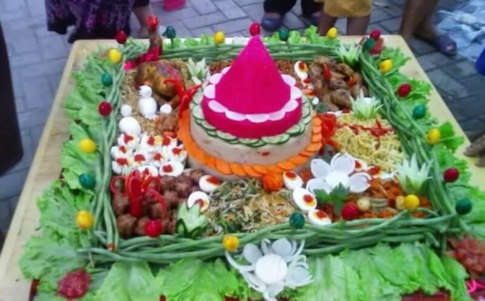 Resep Nasi Tumpeng Merah Putih - Bosmeal.com