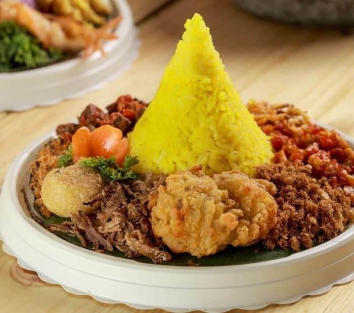 Resep Nasi Tumpeng Mini - Bosmeal.com