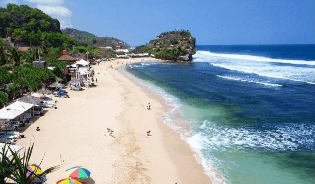 Rekomendasi Tempat Wisata di Jogja Pantai Indrayanti Daerah Istimewa Yogyakarta