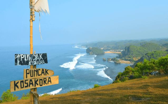 Wisata Puncak Kosakora Yogyakarta Gunungkidul