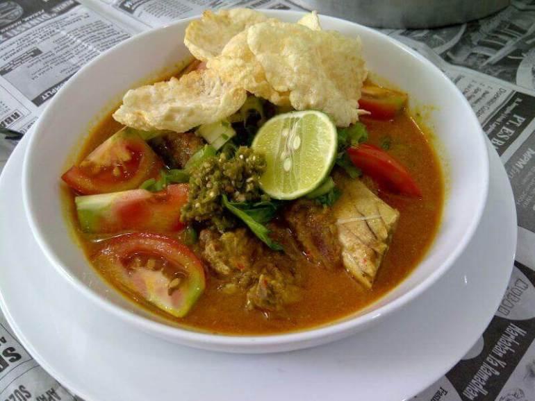 Menu Makanan Khas Karawang Soto Tangkar - Bosmeal.com