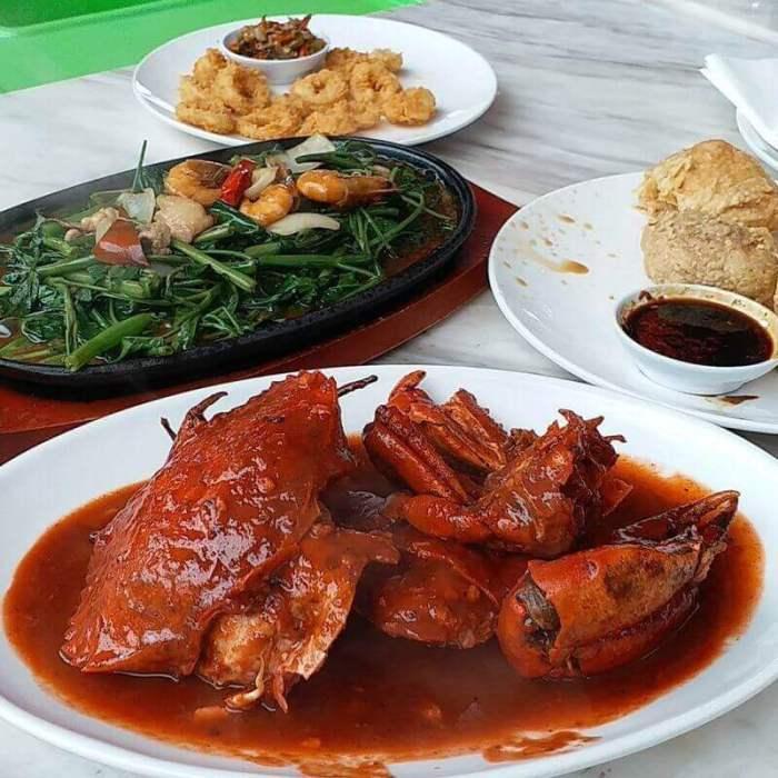 resep makanan khas pasuruan kepiting cak gundul - Bosmeal.com