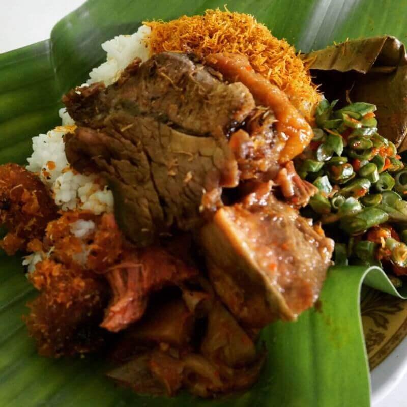 Nama Makanan Khas Pasuruan Jawa Timur Nasi Punel