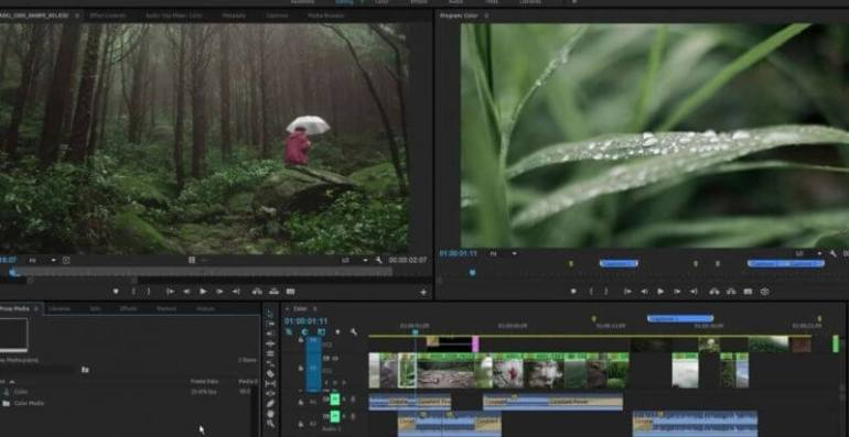 Aplikasi Edit Video PC Adobe Premiere Pro