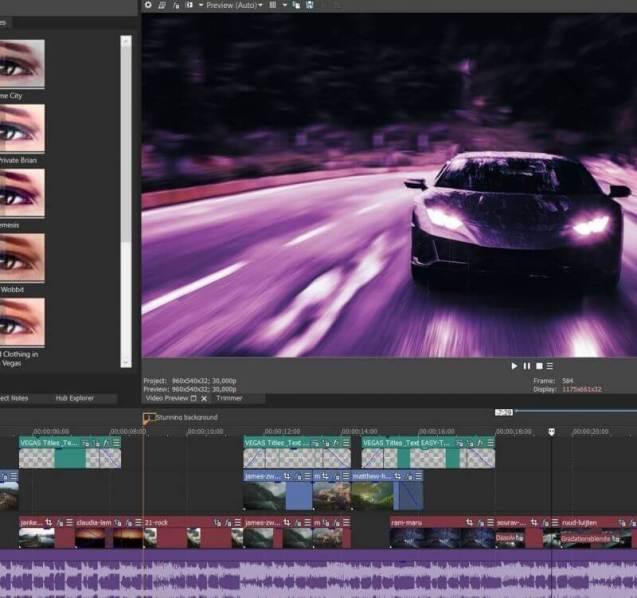 Aplikasi Edit Video PC Magix Vegas Pro