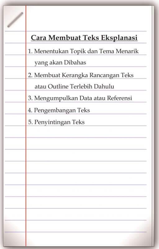 Langkah Pertama Dalam Menyusun Teks Eksplanasi : langkah, pertama, dalam, menyusun, eksplanasi, Langkah, Penulisan, Eksplanasi, Belajar