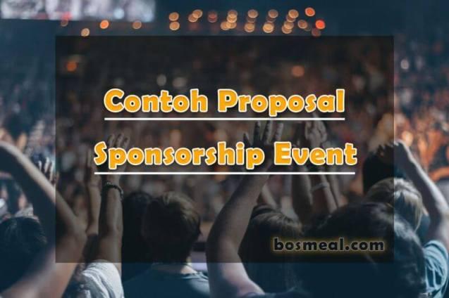 Contoh Proposal Sponsorship Event - bosmeal.com