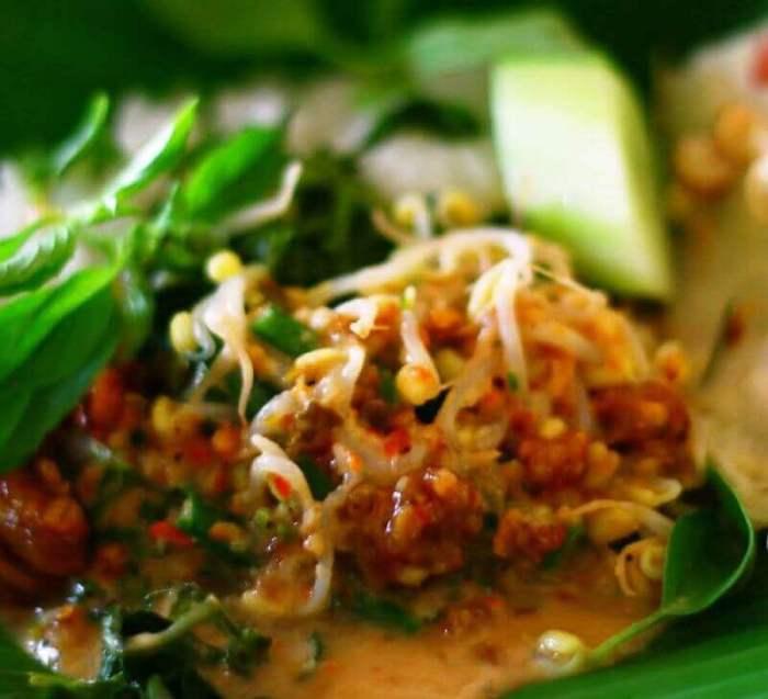 makanan khas nganjuk_nasi pecel