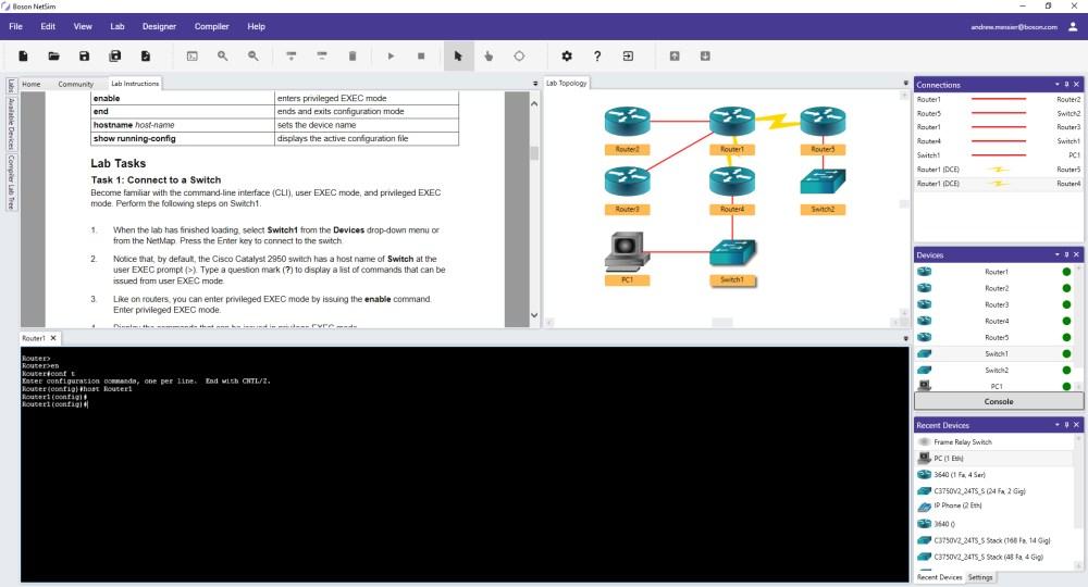 medium resolution of netsim 12 network simulator lab and topology view