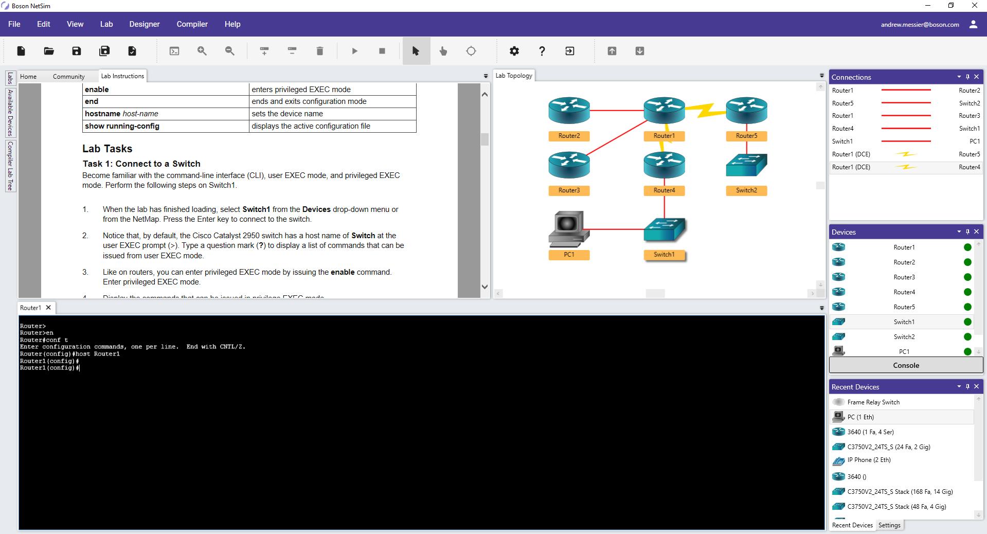 hight resolution of netsim 12 network simulator lab and topology view