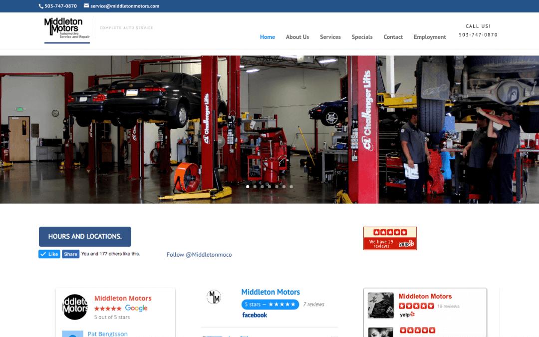 Middleton Motors – Hillsboro, Oregon