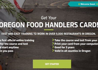 Oregon Food Handler Card – Portland, Oregon
