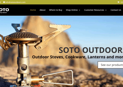 SOTO Outdoors – Lebanon, Oregon