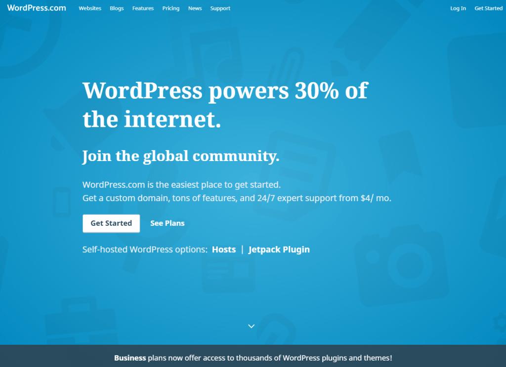 https://bosonhub.com/use-wordpress-build-website/