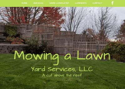 Mowing a Lawn LLC – Corvallis, Oregon