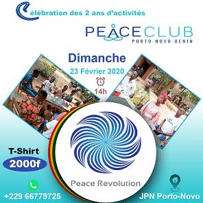 AFFICHE PEACE CLUB PORTO 2ANS ANNIF 2 par Boss Arts