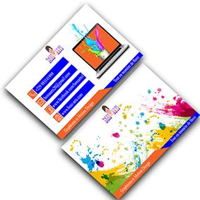 Conception Cartes de Visite par Boss Arts