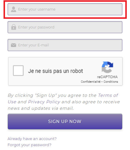 Comment créer un nom d'utilisateur sur Droidvpn par Boss Arts