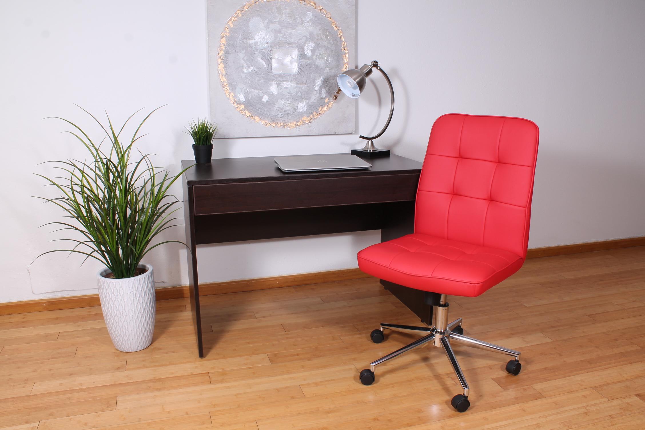 red office chair no wheels covers in target boss millennial modern home  bosschair