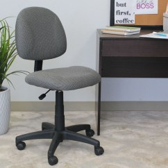 Office Chair Posture Buy Outdoor French Bistro Table And Chairs Boss Perfect Deluxe Task Without Arms