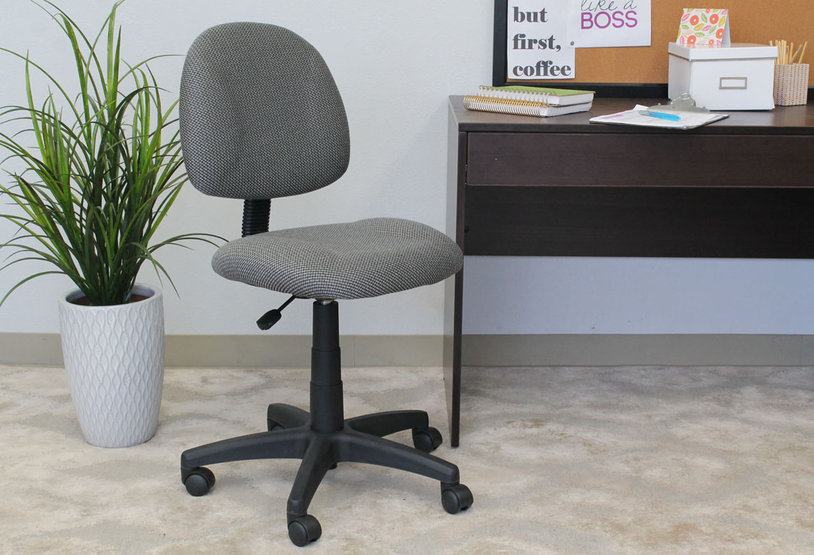 perfect posture chair zero gravity lounge with canopy boss deluxe office task without arms