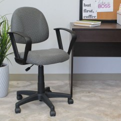 Posture Deluxe Chair High Restraints Boss Perfect Office Task With Loop