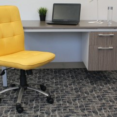 Yellow Office Chair Graco Duodiner Lx High Instructions Modern  Bosschair