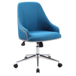 Desk Chair Blue X Rocker Gaming Power Adapter Boss Carnegie Peacock Bosschair