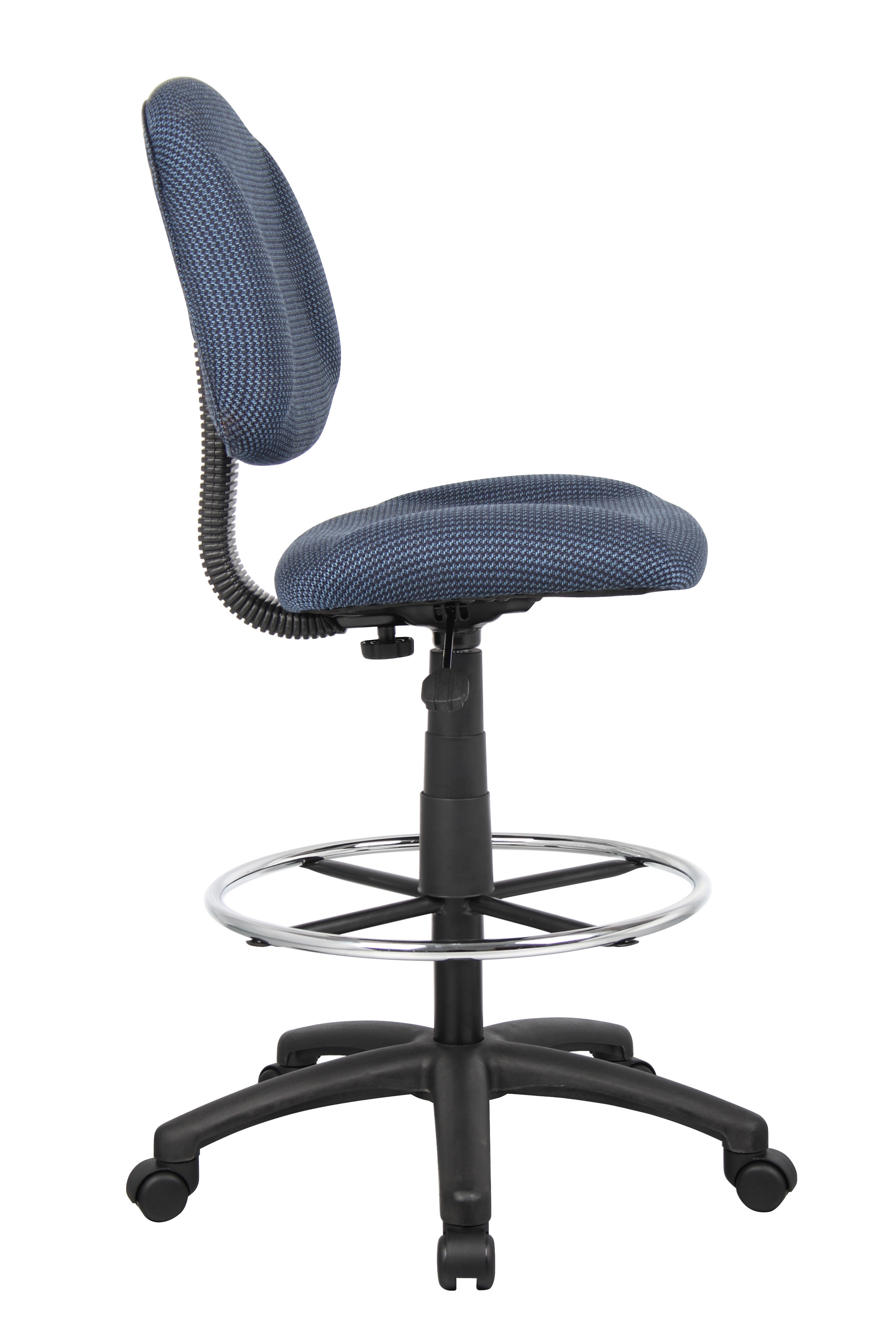 ergonomic chair without arms indoor swing canada boss works adustable drafting