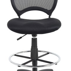 Mesh Drafting Chair Purple Office Chairs Boss Stool  Bosschair