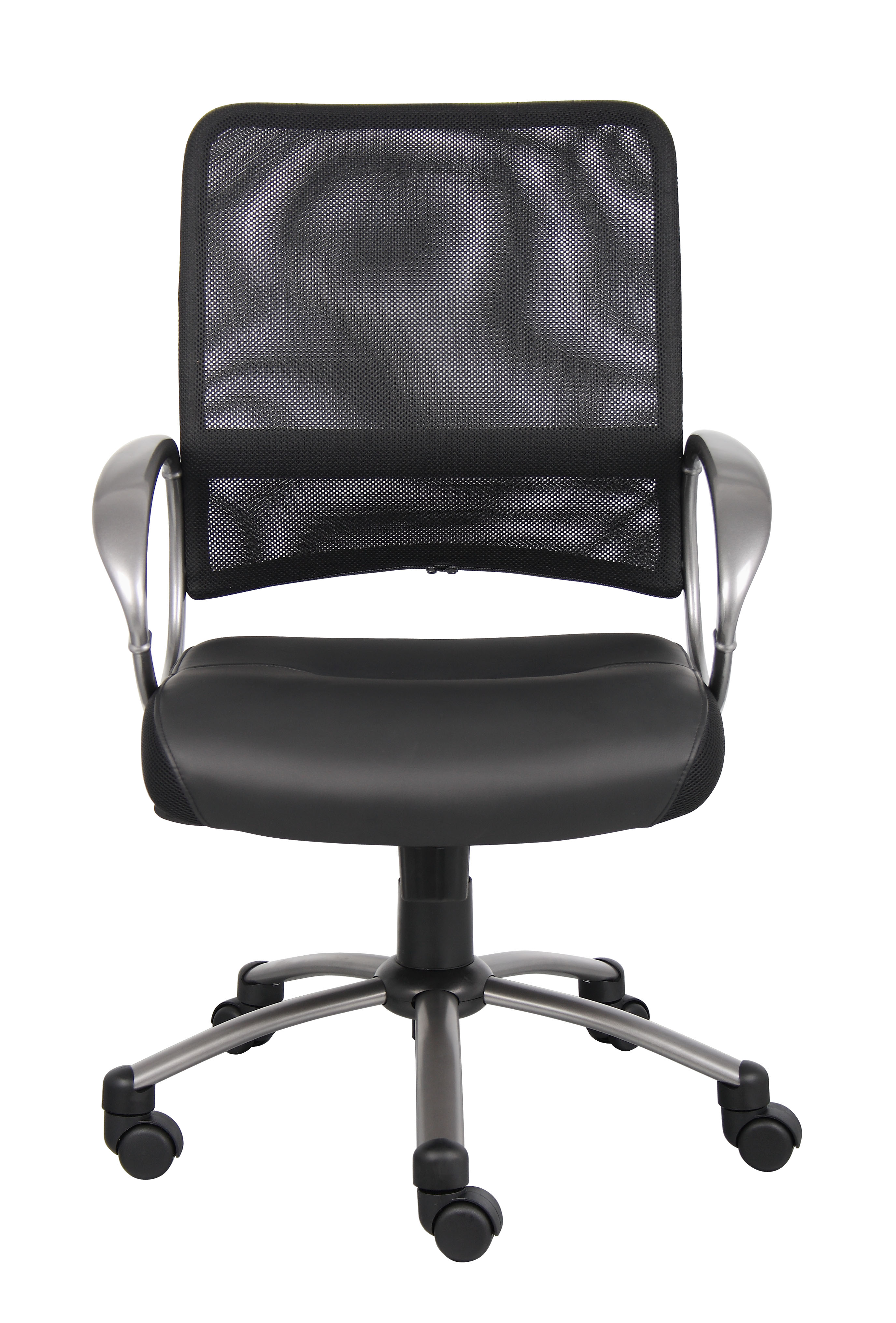 most expensive chair lift red leather office boss mesh back w pewter finish task  bosschair