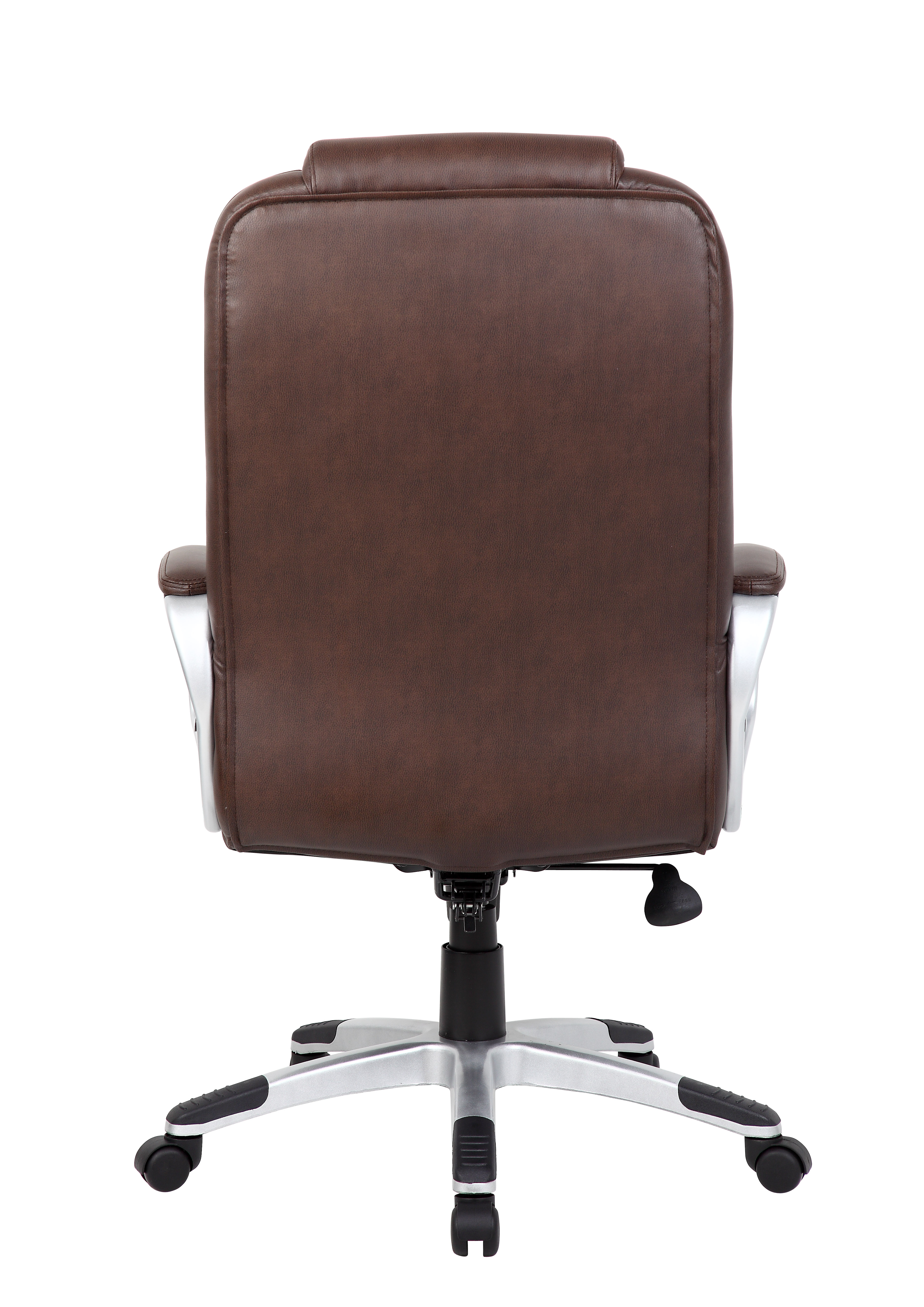 boss ntr executive leatherplus chair orange side brown  bosschair