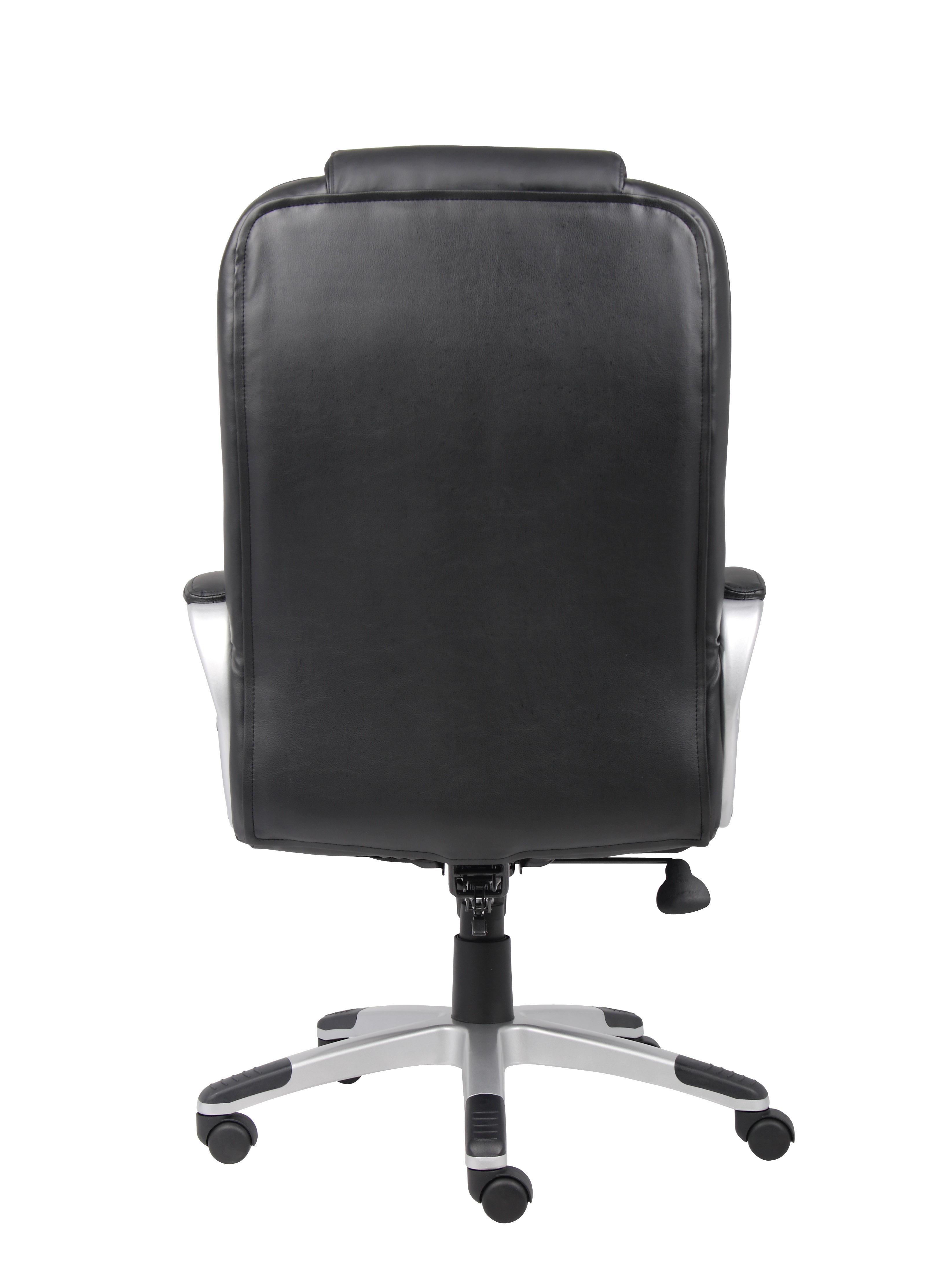 boss ntr executive leatherplus chair travel trailer swivel chairs  bosschair